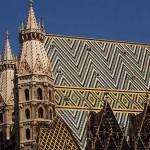 Il tetto del Duomo di Vienna