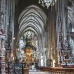 L'interno di Santo Stefano a Vienna