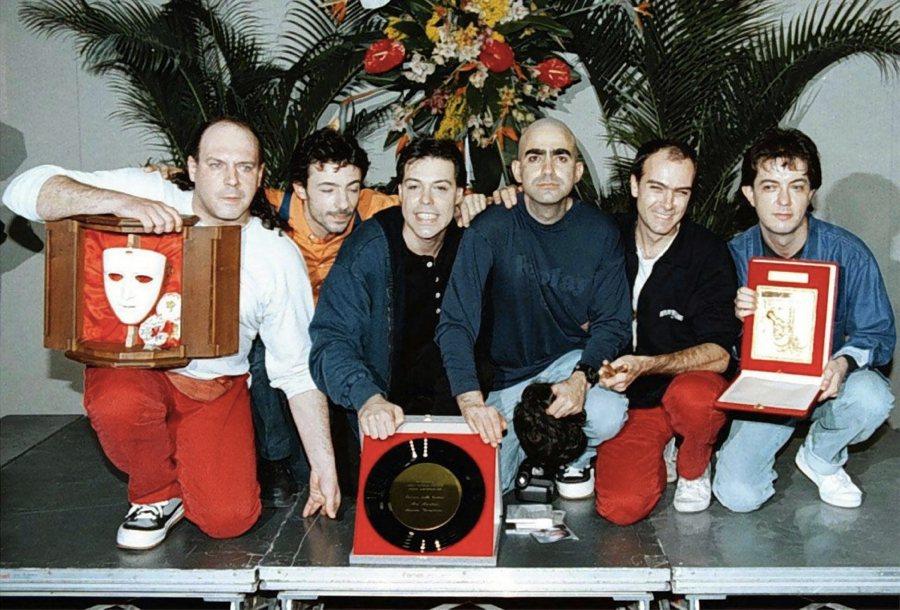 Elio e le storie tese a Sanremo nel 1996