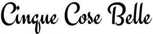 Il nome del nostro sito scritto col font Engagement