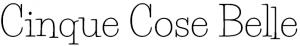 Il nome del nostro sito scritto col font Life Savers