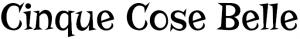 Il nome del nostro sito scritto col font Risque