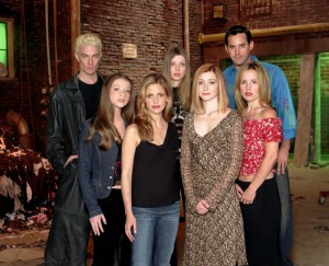 Il cast di Buffy l'ammazzavampiri