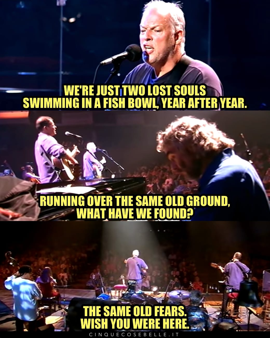 Wish You Were Here dei Pink Floyd