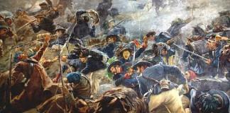 I bersaglieri respingono i russi nella Battaglia della Cernaia del 16 agosto 1855