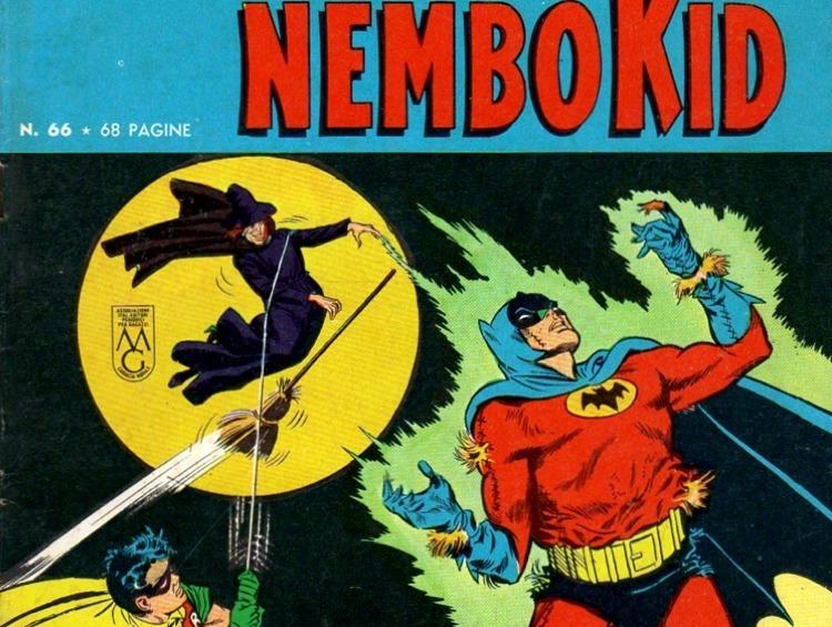 Una copertina del Nembo Kid con Batman