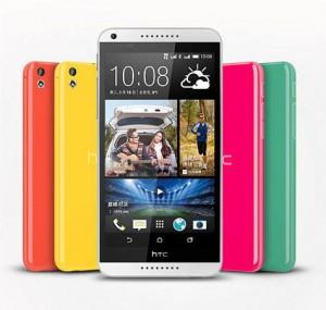 L'HTC Desire 816 nelle sue molte colorazioni