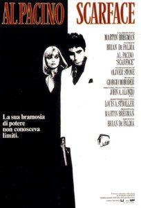 Scarface, di Brian De Palma con Al Pacino