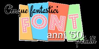 Cinque fantastici font anni '50 gratuiti