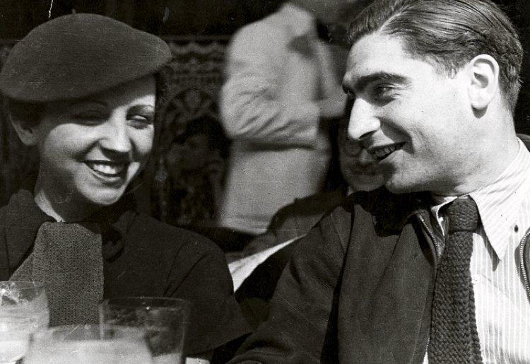 Gerda Taro e Robert Capa
