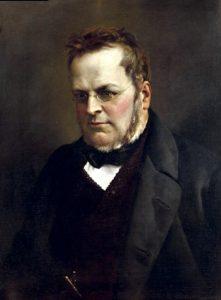 Camillo Benso conte di Cavour ritratto da Antonio Ciseri