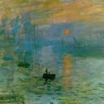 Impressione. Levar del sole di Claude Monet