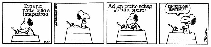 Il mistero si infittisce nella trama imbastita da Snoopy