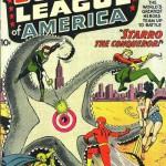 La prima apparizione americana della Justice League