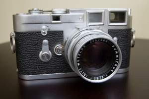 La Leica M3 (foto di Paul Goyette via Flickr)