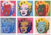 Marilyn Monroe secondo Andy Warhol