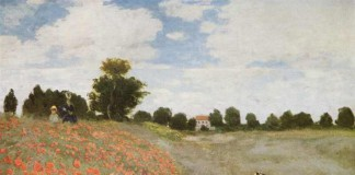I papaveri di Claude Monet