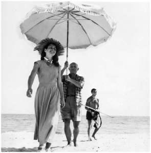 Pablo Picasso and Françoise Gilot
