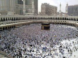 Pellegrini a La Mecca, luogo sacro dell'Islam e centro della seconda religione più diffusa al mondo (foto di Omar Chatriwala per Al Jazeera)