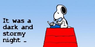 Le migliori strisce dei Peanuts con Snoopy scrittore