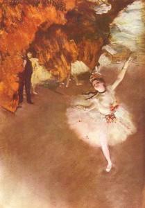 Balletto - La stella di Edgar Degas