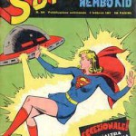 Supergirl sulla copertina di un albo Mondadori