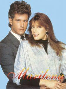 I protagonisti di Marilena, seguita telenovela degli anni '80