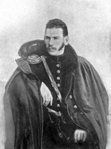 Lev Tolstoj nel 1855