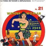 Le prime storie di Wonder Woman ristampate negli anni '70 su Il Mago