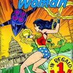 Il primo numero del Wonder Woman della Cenisio