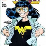 Wonder Girl disegnata da John Byrne in un albo Play Press