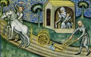 L'uso dell'aratro pesante in epoca medievale