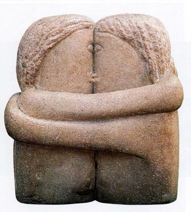 Il bacio di Constantin Brâncuși