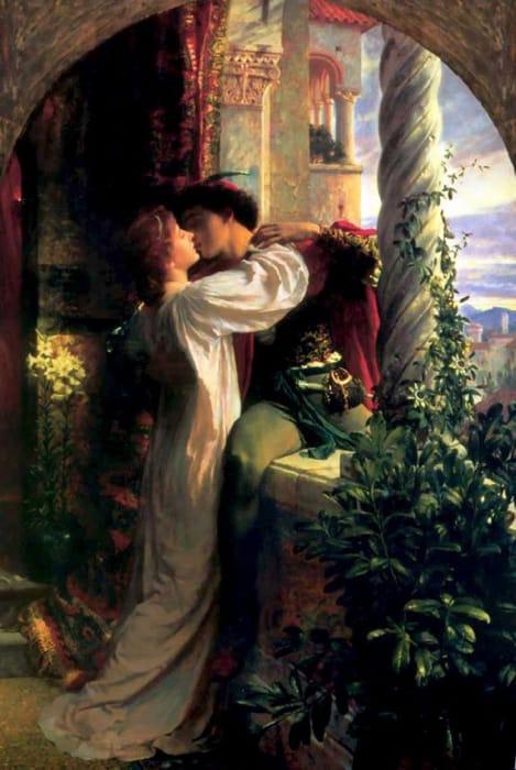 Romeo e Giulietta di Frank Dicksee
