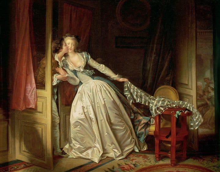 Il bacio rubato di Jean-Honoré Fragonard