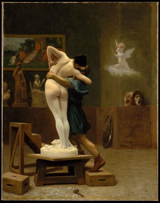 Pigmalione e Galatea di Jean-Léon Gérôme