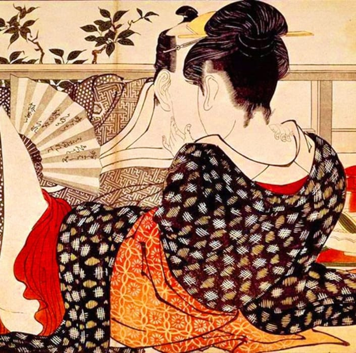Il canto del guanciale di Kitagawa Utamaro