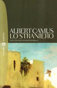Copertina de Lo straniero di Albert Camus