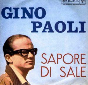 Sapore di sale di Gino Paoli, forse la più famosa tra le canzoni sull'estate in italiano