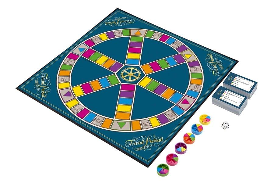 Il tabellone di Trivial Pursuit