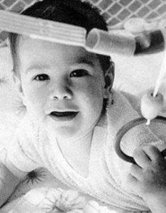 Keanu Reeves da bambino