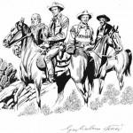 Tex e i suoi pards nell'interpretazione di Letteri