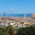 Veduta di Firenze da Piazzale Michelangelo