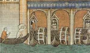 Il mulino ad acqua fu una delle più importanti invenzioni del Medioevo