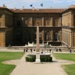 Lato di Palazzo Pitti che si affaccia sui giardini