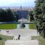 Veduta dal Giardino di Boboli