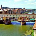 Altra veduta del Ponte Vecchio di Firenze