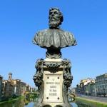 Il monumento a Benvenuto Cellini