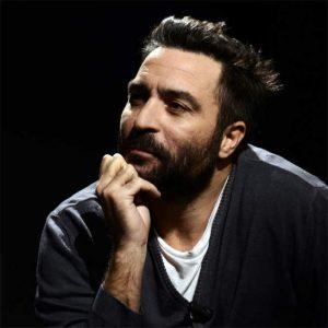Saverio Costanzo durante un'intervista per il magazine televisivo Movie.Mag