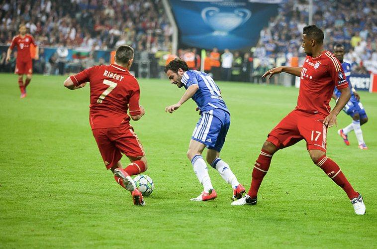 Il Bayern Monaco, la squadra che i nostri lettori reputano la più forte quest'anno, impegnato contro il Chelsea (foto di rayand via Flickr)